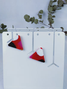 Singleuse Multiverse Triangle Studs -Earrings