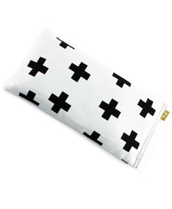 Sabine & Sparrow Crosses on White Heat Pack -Heat Pack