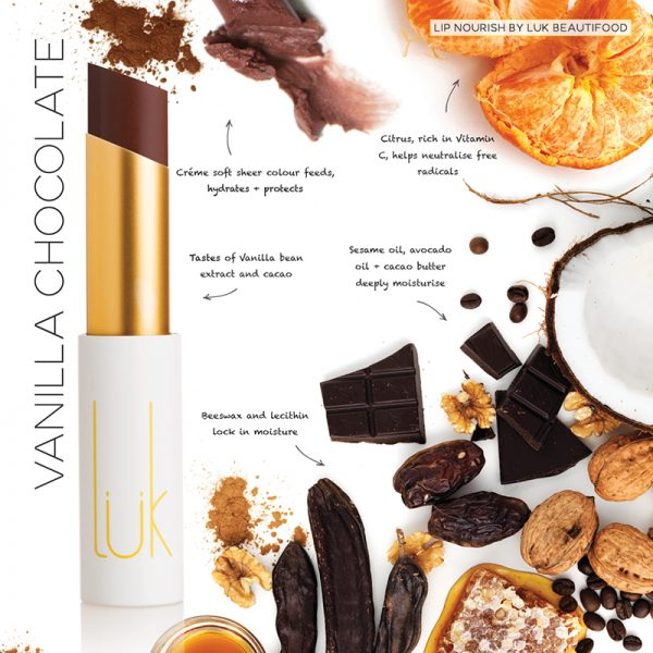 Luk Beautifood Lip Nourish Lipstick -Lipstick Vanilla Chocolate Melbourne