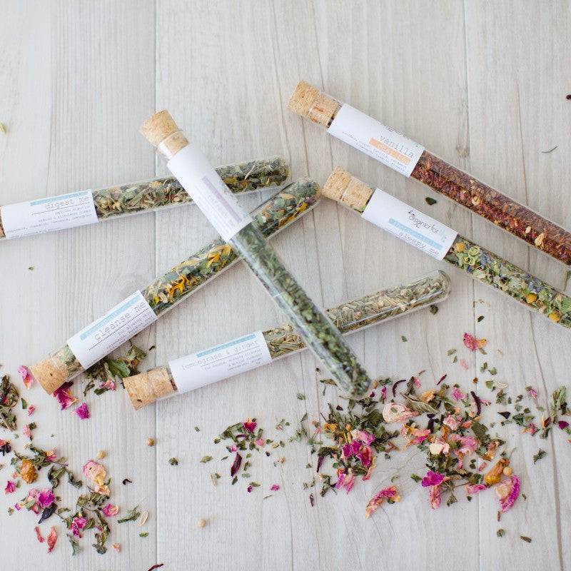 Organics for Lily Test Tube Tea -Tea