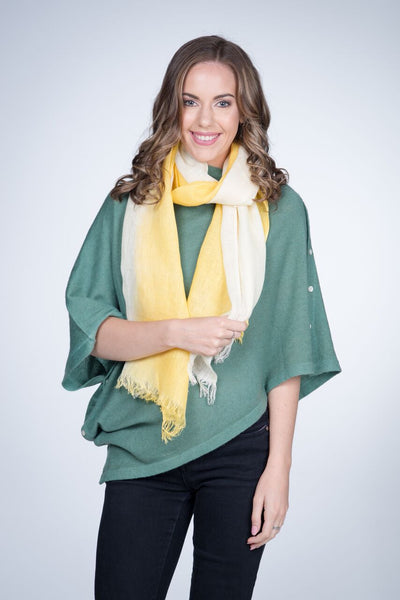 Linen Scarf Yellow