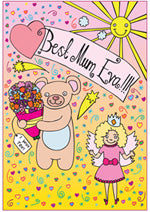 Able and Game Best Mum Eva!!! -Cards