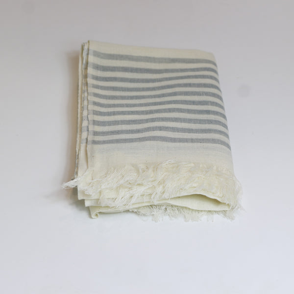 Cotton-scarf-grey-stripe