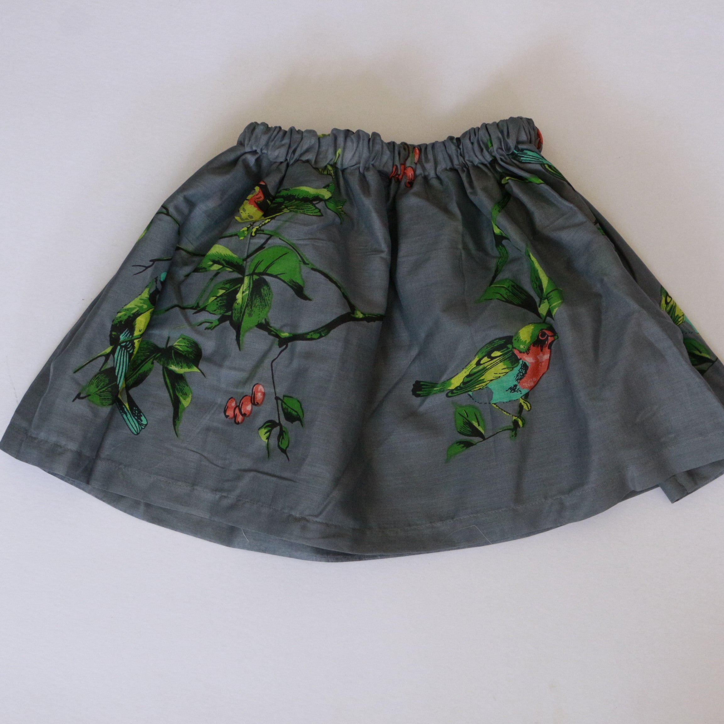 Nine Yaks - Nine Yaks kids Grey bird skirt - last minute gift idea - melbourne