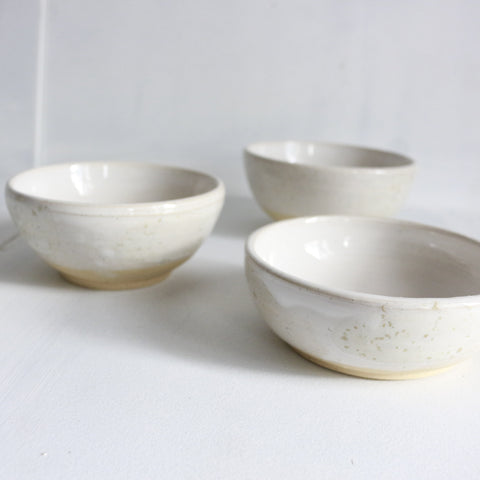 Bryteka Pottery Small bowls (set of 3) -Bowls Glossy Melbourne