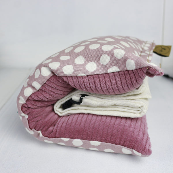 Sabine & Sparrow Pastel Pink Dots Heat Pack -Heat Pack Unscented Melbourne