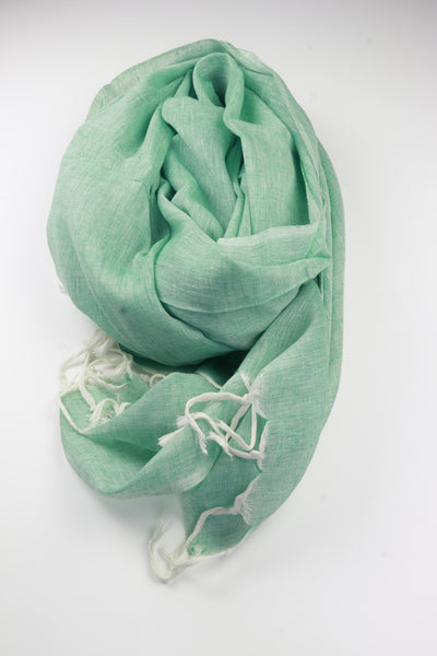 Pookipoiga Natural Cotton Sarong -Accessories Green Melbourne
