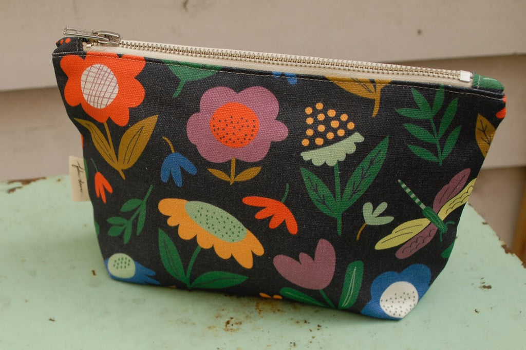 Fabric Drawer Meadow Zip Purse -Purse