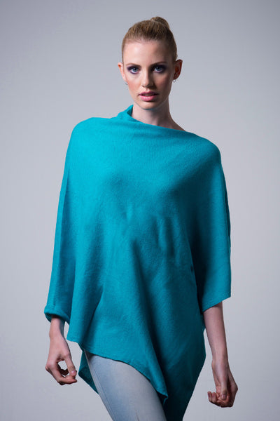 Cashmere-poncho-nine-Yaks-ethical-sustainable-blue-green-clothing-fashion-teal-aqua