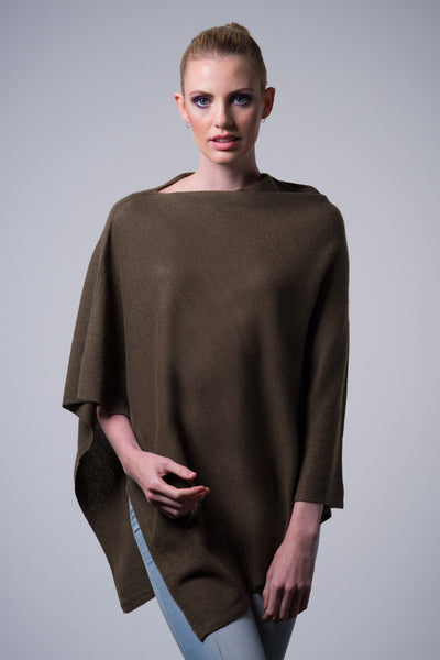 Cashmere-poncho-nine-Yaks-ethical-sustainable-clothing-fashion-brown-olive-khaki