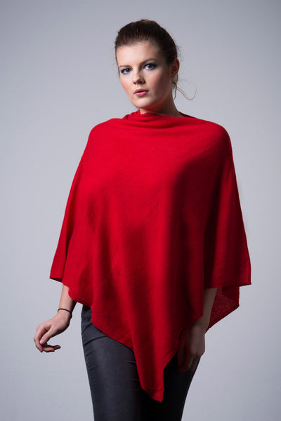 Cashmere-poncho-nine-Yaks-ethical-sustainable-clothing-fashion-red