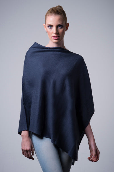 Cashmere-poncho-nine-Yaks-ethical-sustainable-clothing-fashion-blue-grey-steel