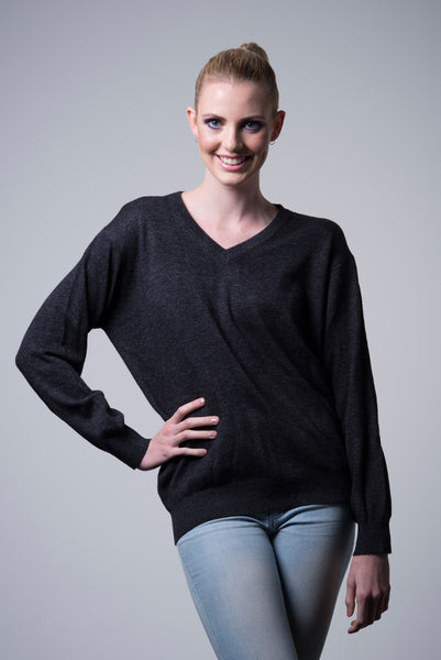 Natural Cashmere Sweater - last minute gift idea