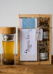 Organics for Lily Tea Bottle Gift set -Tea Bottle