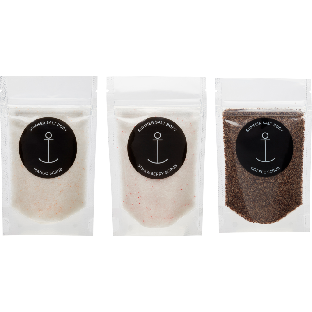 Summer Salt Body Three Mini Scrubs Pack -Face and Body