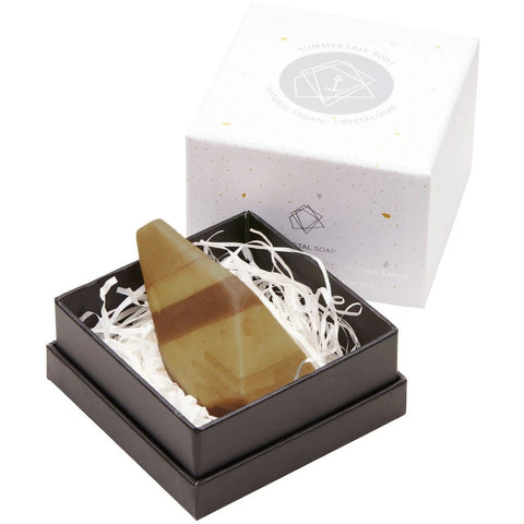 Summer Salt Body Tiger's Eye Crystal Soap -Soap Melbourne
