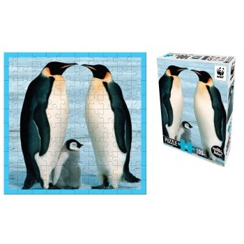 WWF - Penguin 100 Piece Puzzle - last minute gift idea - melbourne