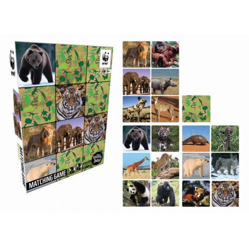 WWF - WWF Matching Game - Mammals - last minute gift idea - melbourne