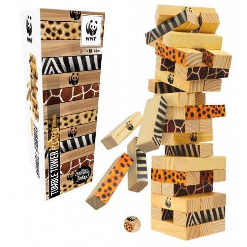 WWF - Miombo Tumble Tower - last minute gift idea - melbourne