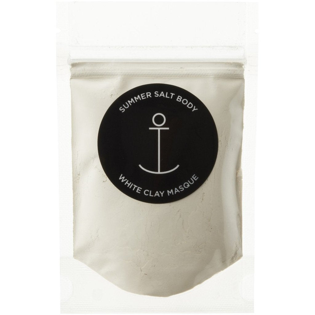 Summer Salt Body Mini White Clay Masque - 40g -Skincare