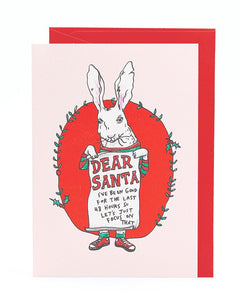 Wally Paper Co Dear Santa -Cards