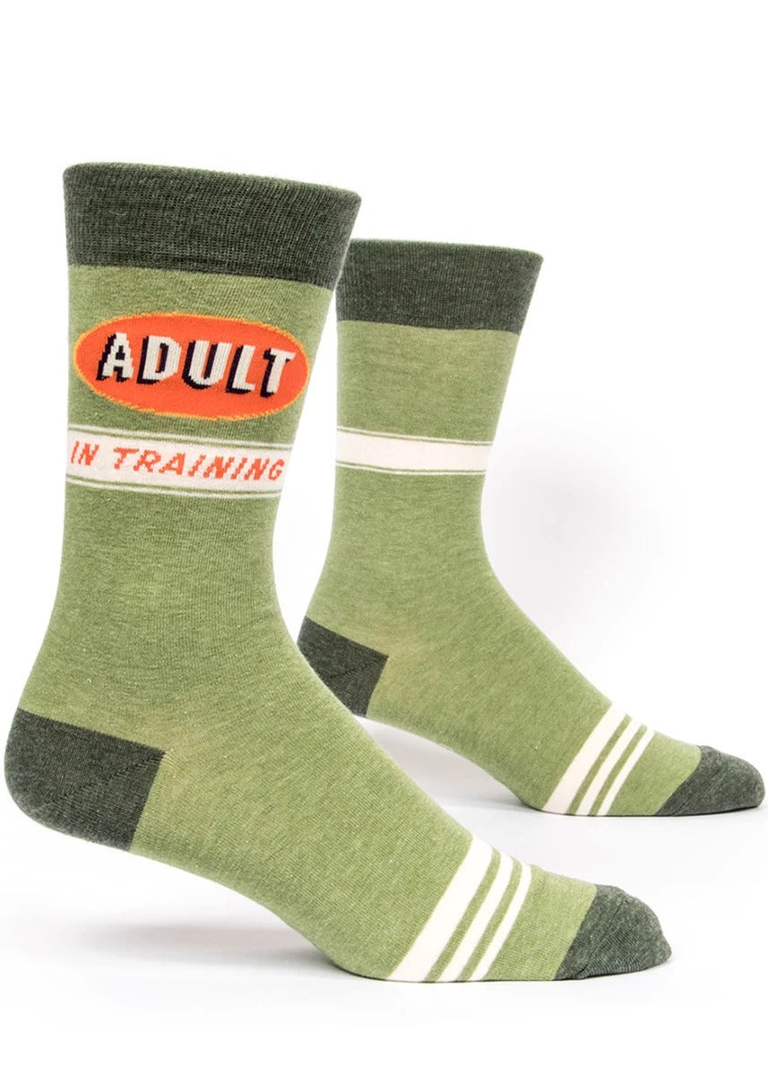 Blue Q Adult In Training Men's Socks -Socks