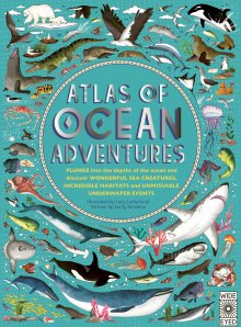 Harper Collins Atlas of Ocean Adventures -Book Melbourne