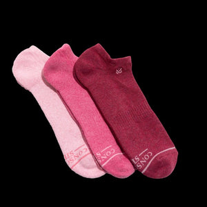 Socks that Promote Breast Cancer Prevention - ankle collection - Pookipoiga