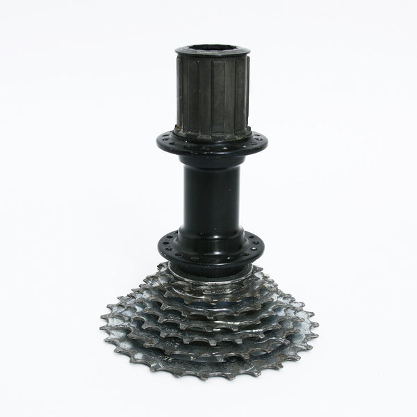 Tread and Pedals Tread and Pedal Candle Holder -Black -Homewares Melbourne