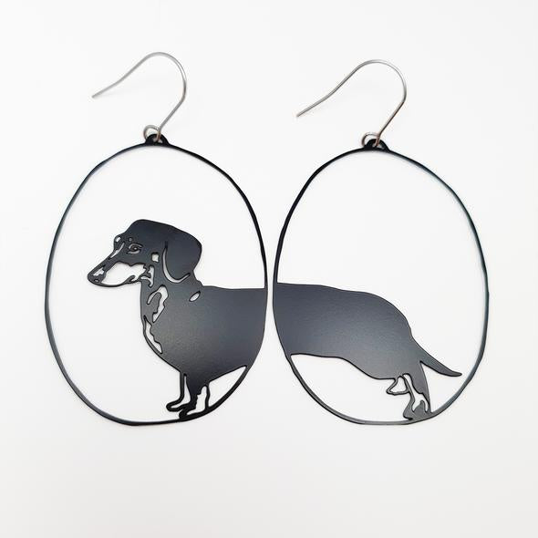 Denz + co - Dachshunds in Black - last minute gift idea - melbourne