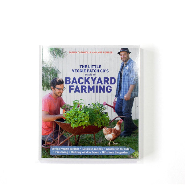 Little Veggie Patch Co BOOK TWO: GUIDE TO BACKYARD FARMING -Book Melbourne