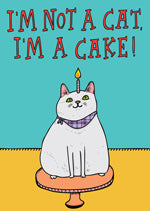 Able and Game I'm Not A Cat I'm A Cake -Cards