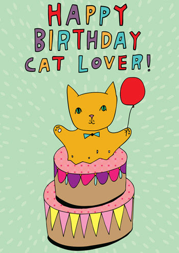 Happy birthday cat lover