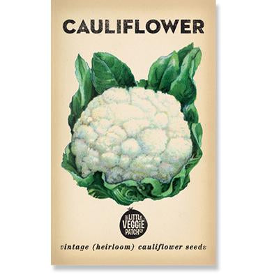 Little Veggie Patch Co - CAULIFLOWER 'SNOWBALL' HEIRLOOM SEEDS - last minute gift idea - melbourne