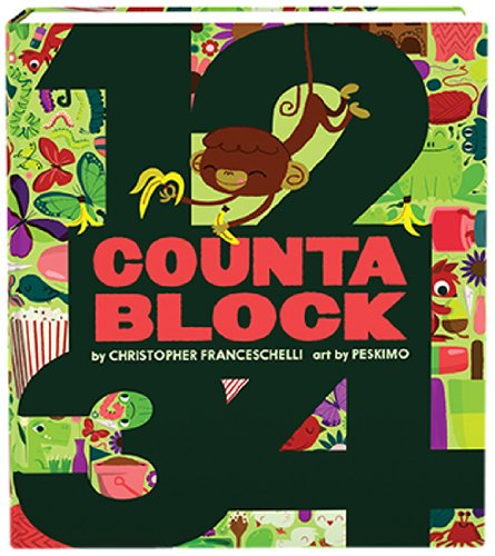Countablock Numbers Book - last minute gift idea