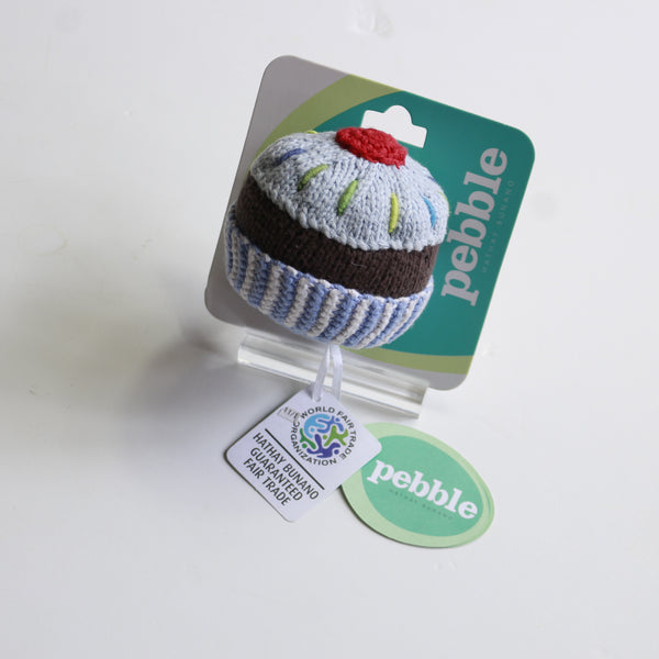 Pebble Cupcake Rattle -Toy Melbourne