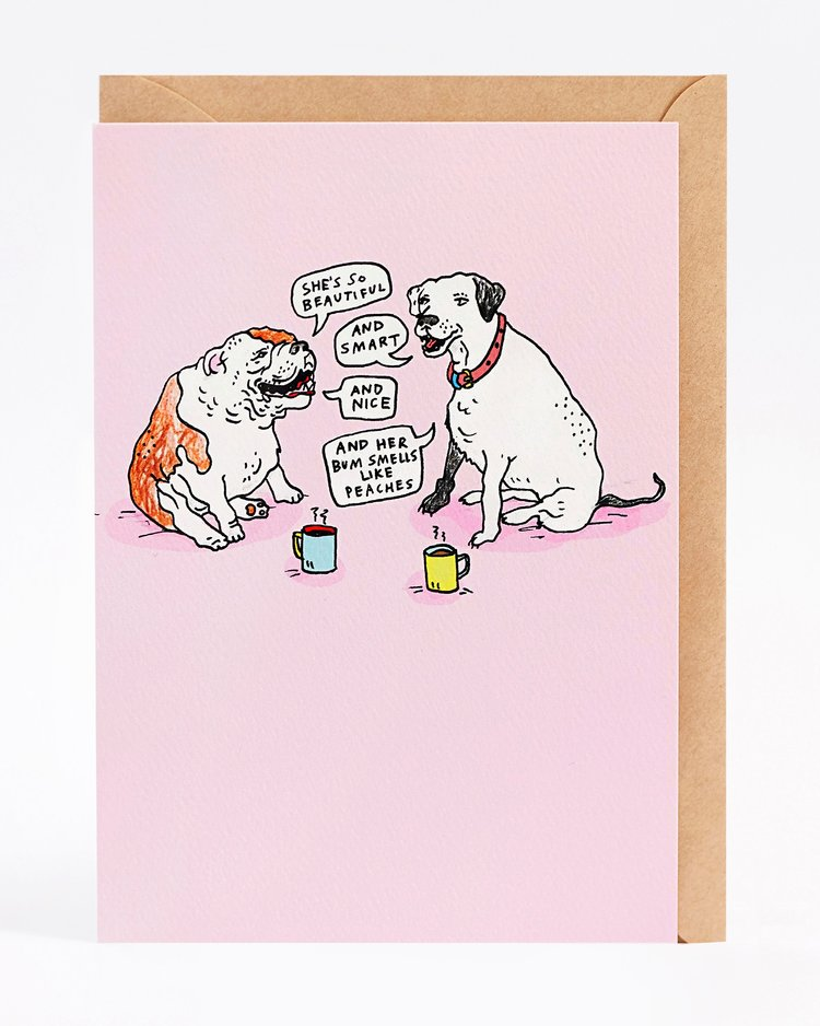 Wally Paper Co Doggy chat -Cards