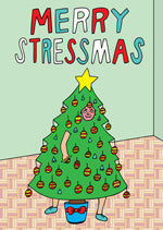 Able and Game Merry Stressmas -Cards