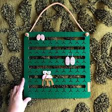 Bon Maxie Hanging Bunny-Nose™ Earring Holder -Earring holder Forest Green Melbourne