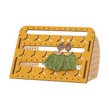 Bon Maxie Mini Mustard Standing Bunny-Nose™ Earring Holder -Earring holder Melbourne