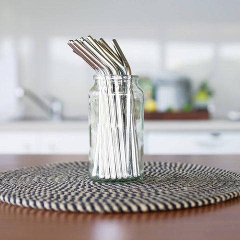 Evergreen Evergreen Stainless Steel Straws -Straws Bent Melbourne