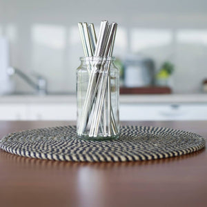 Evergreen Stainless Steel Straws - Pookipoiga