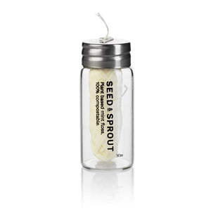 Seed and Sprout Co - Tooth Floss (in glass jar) - last minute gift idea - melbourne