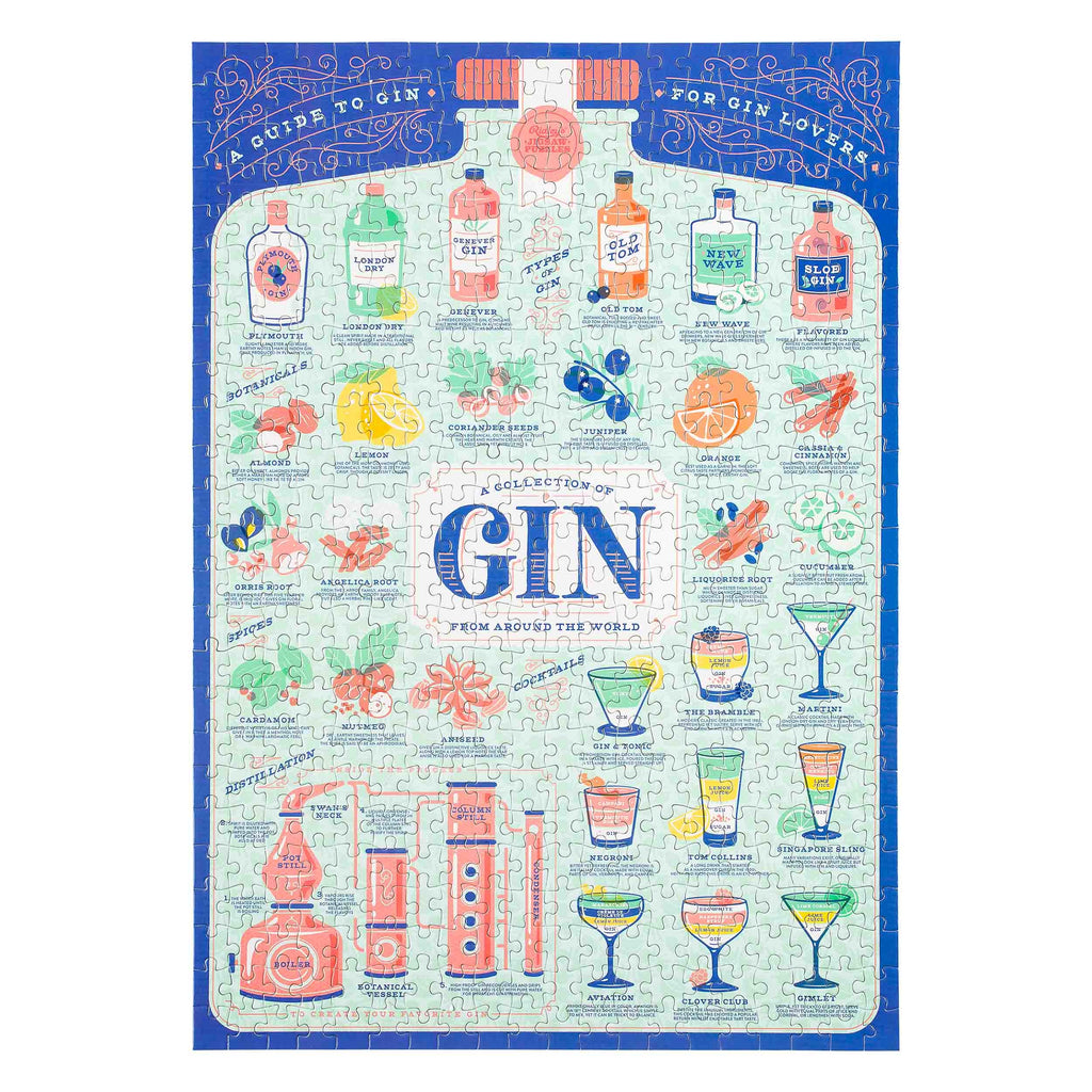Ridley's Gin Lover's 500 Piece Jigsaw Puzzle - Pookipoiga