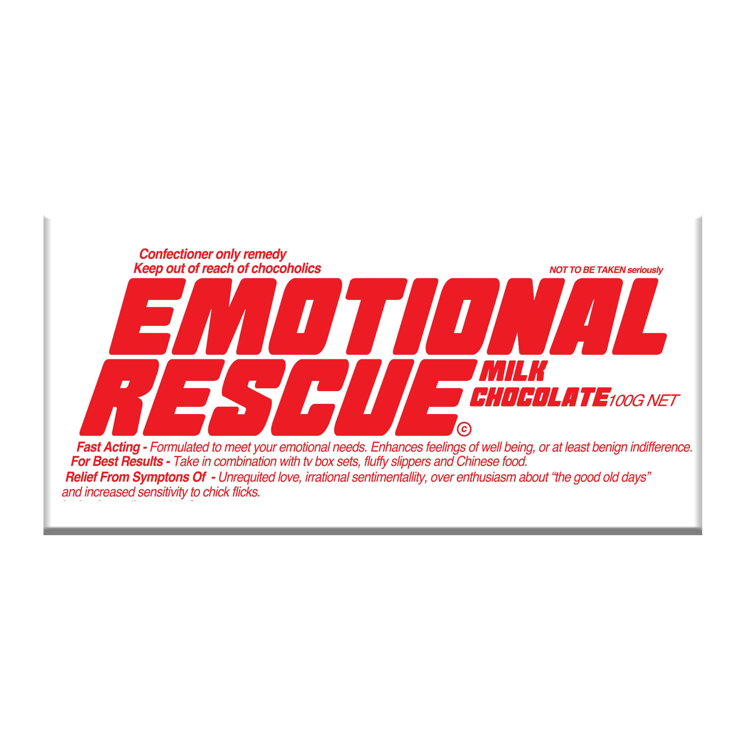 BellaBerry - Emotional Rescue Milk Chocolate - last minute gift idea - melbourne
