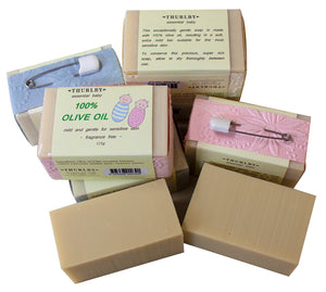 Thurlby Herb Farm - Baby 100% Olive Oil Soap - last minute gift idea - melbourne
