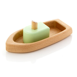Milton Ashby Wooden Toy Boat -Baby