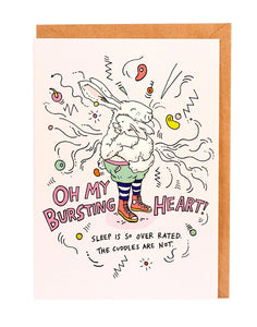 Wally Paper Co - Heart Burst - last minute gift idea - melbourne
