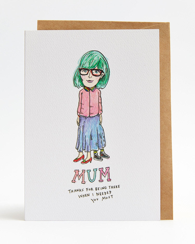 Wally Paper Co - Mum Hiding Skirt - last minute gift idea - melbourne