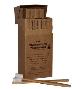 Bamboo Toothbrush - adult - last minute gift idea